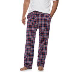Big & Tall Croft & Barrow® Printed Knit Lounge Pants