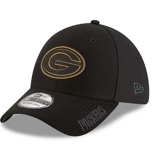 Adult New Era Green Bay Packers Training 39THIRTY Flex-Fit Cap