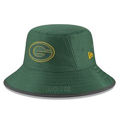 3932100be Adult New Era Green Bay Packers Training Bucket Hat