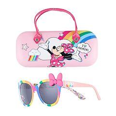 a0de35e5de0f Disney s Minnie Mouse Girls 4-16 Sunglasses   Case Set