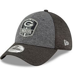 Adult New Era Green Bay Packers Sideline Team 39THIRTY Flex-Fit Cap