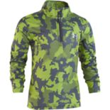 Boys 4-7 Under Armour Camo Quarter Zip Mock Neck Pullover