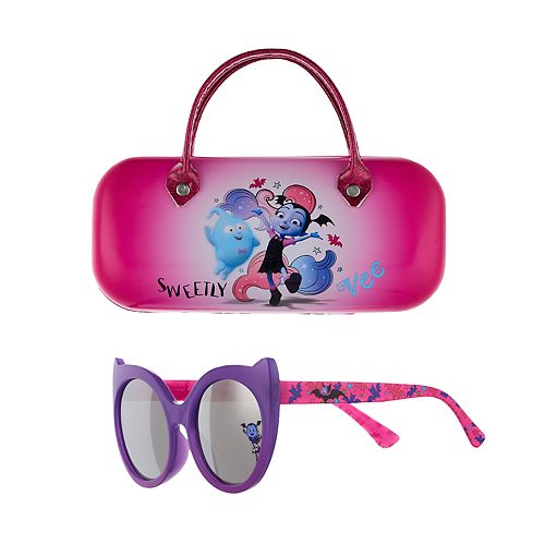 Disney's Vampirina Girls 4-16 Sunglass with Case Set
