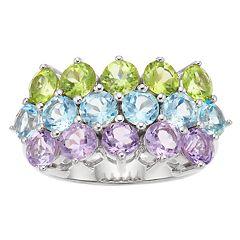 SIRI USA by TJM Sterling Silver Gemstone Ring