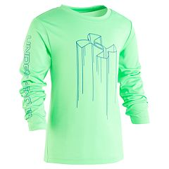 Boys 4-7 Under Armour Logo Drip Graphic Tee