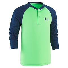 Boys 4-7 Under Armour Raglan Henley Top