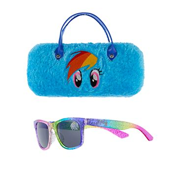 Girls 4-16 My Little Pony Rainbow Dash Sunglasses with Case Set