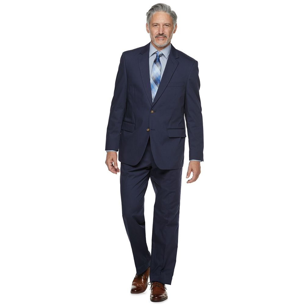 Men's Palm Beach Boone Classic-Fit Poplin Suit