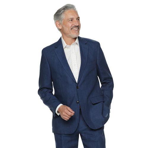Men's Palm Beach Bradley Classic-Fit Linen Suit Jacket
