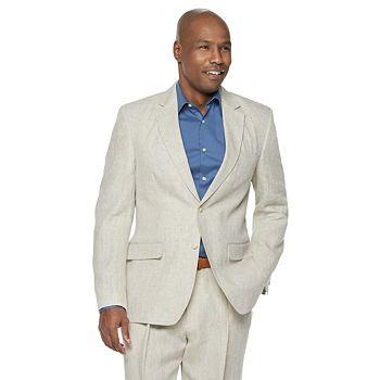 Men's Palm Beach Brock Classic-Fit Linen Suit Jacket