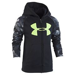 Boys 4-7 Under Armour Hooded Raglan Zip Jacket