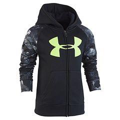 Boys 4-7 Under Armour Hooded Raglan Zip Jacket