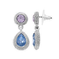 Napier Double Drop Earrings