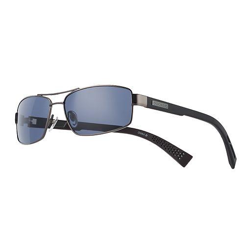 Men's Dockers Gunmetal Flex Temple Navigator Sunglasses