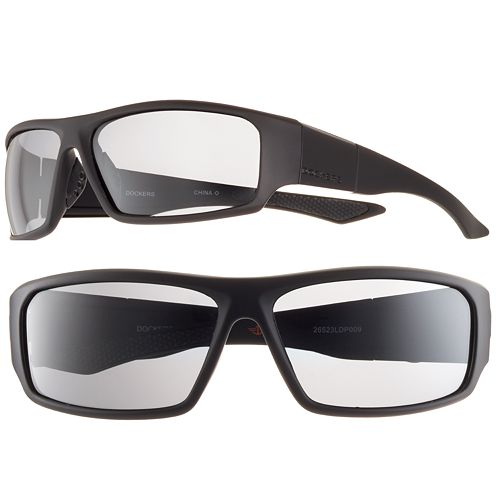 Men's Dockers Polarized Wrap Sunglasses