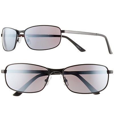 Men's Dockers Polarized Matte Single Bridge Sunglasses