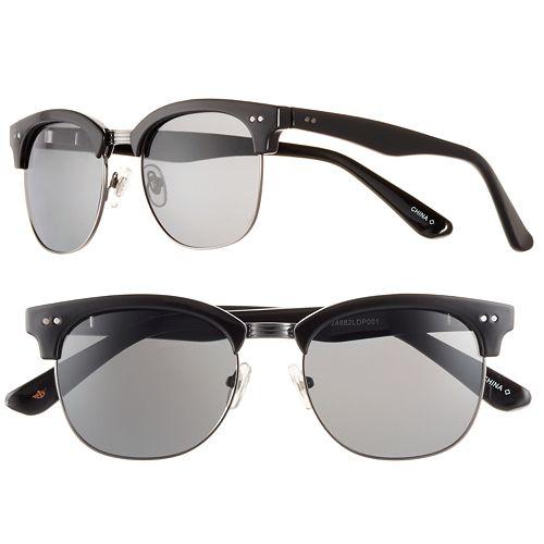 Men's Dockers Black Clubmaster Sunglasses