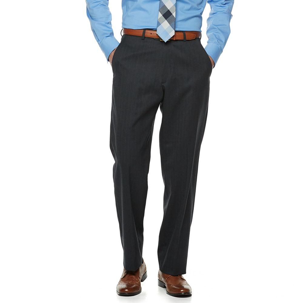 Men's Palm Beach Sam Classic-Fit Wool-Blend Flat-Front Suit Pants