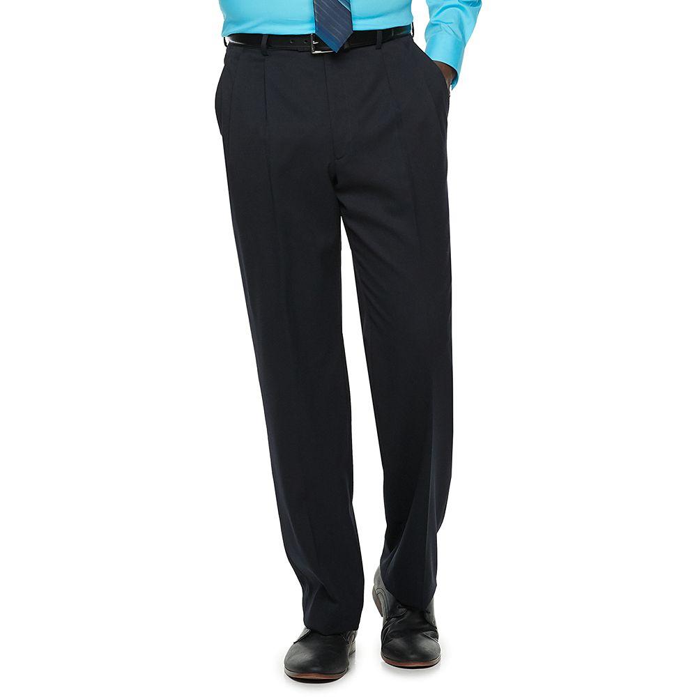 Men's Palm Beach Stan Classic-Fit Wool-Blend Pleated Suit Pants