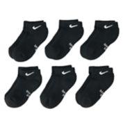 Boys 4-20 Nike Dri-FIT 6-Pack Low-Cut Socks