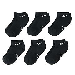 Boys 4-20 Nike Dri-FIT 6-Pack Low-Cut Socks