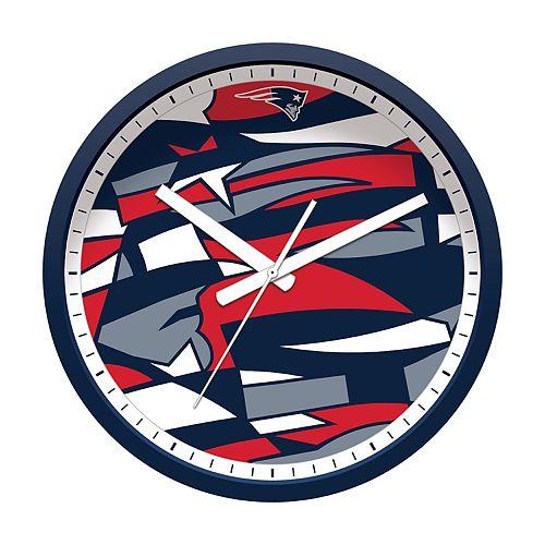 New EnglandPatriots Modern Wall Clock