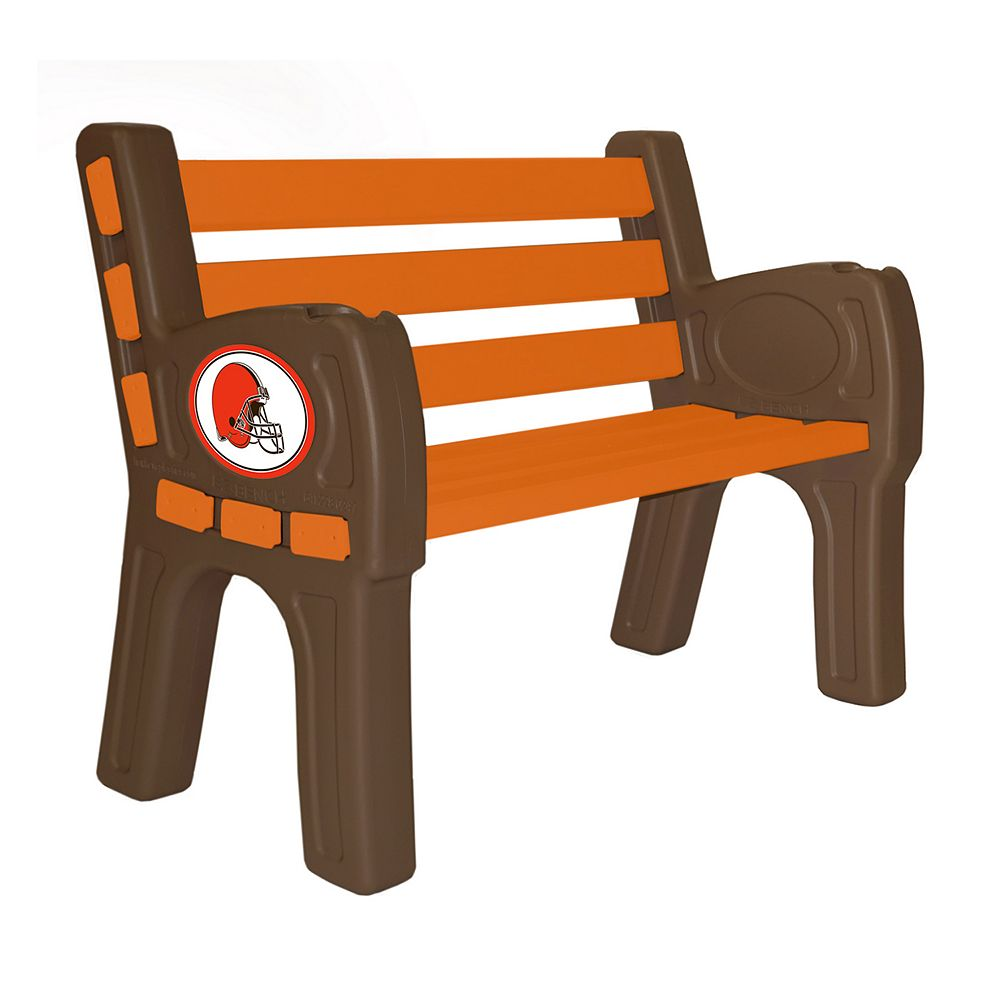 Cleveland Browns Park Bench