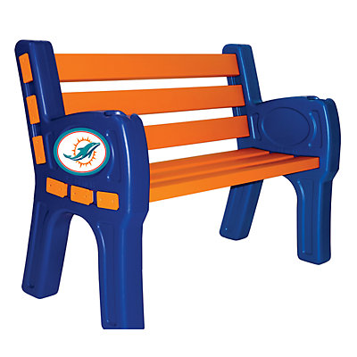 Miami Dolphins Park Bench