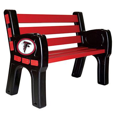 Atlanta Falcons Park Bench