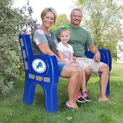 Detroit Lions Park Bench