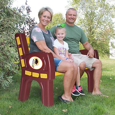 Washington Redskins Park Bench