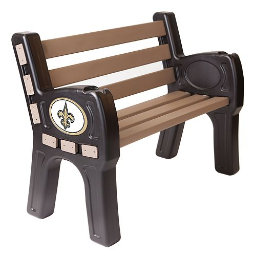 New Orleans Saints Park Bench