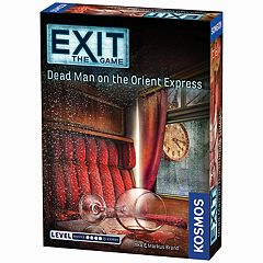 Thames & Kosmos EXIT: Dead Man on the Orient Express Game