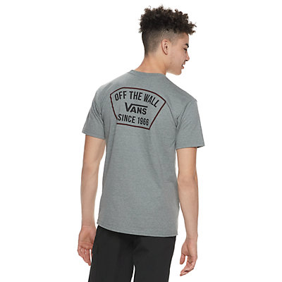 Men's Vans Patched Off The Wall Tee