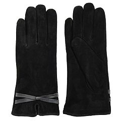 Women's Journee Collection Suede Gloves