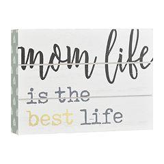 Belle Maison 'Mom Life' Box Sign Art