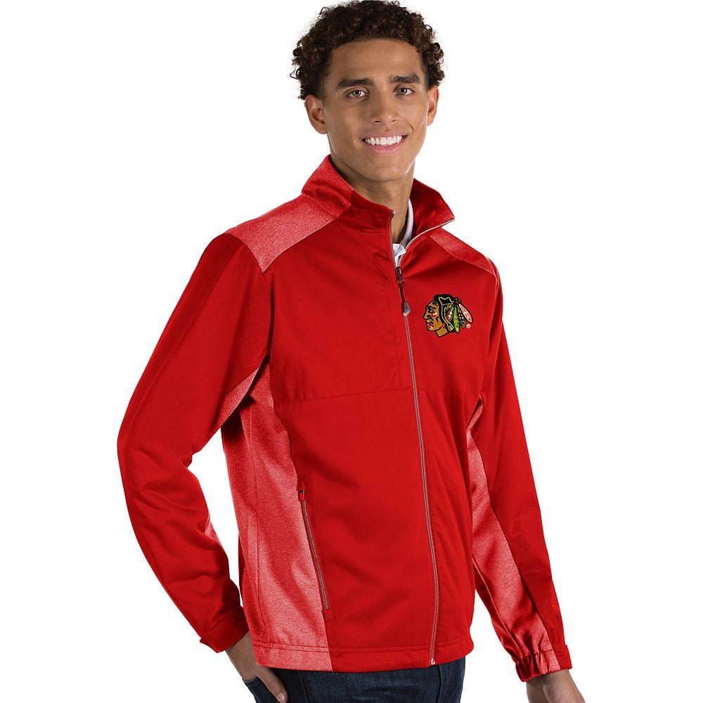 Antigua Men's Revolve Chicago Blackhawks Full Zip Jacket