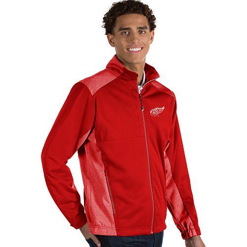 Antigua Men's Revolve Detroit Red Wings Full Zip Jacket