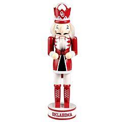 Oklahoma Sooners 14-Inch Holiday Nutcracker