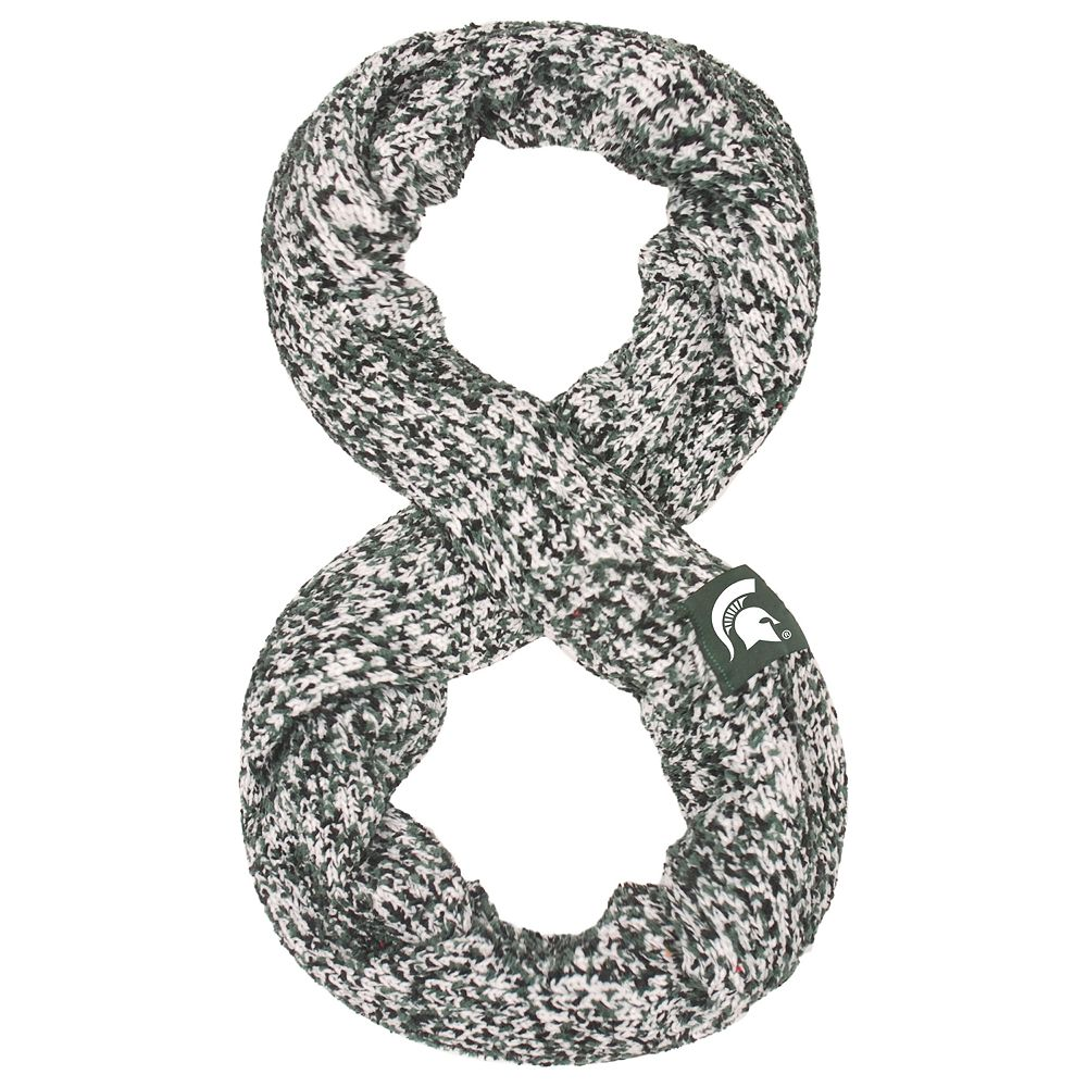 Women's Michigan State Spartans Chunky Infinity Scarf