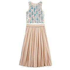 Girls 7-16 Love, Jayne Maxi Skirt & Sleeveless Top Set
