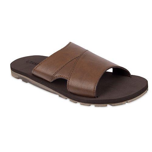 Men's Chaps Stretch Slide Sandals