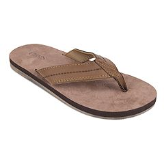 Men's Chaps Soft Sock Thong Flip-Flops