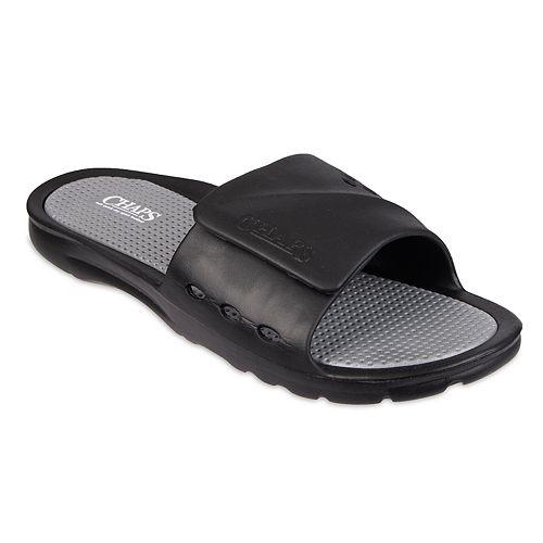 Men's Chaps Molded Upper Slide Sandals