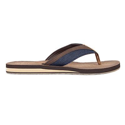 Men's Chaps Denim & PU Thong Sandals