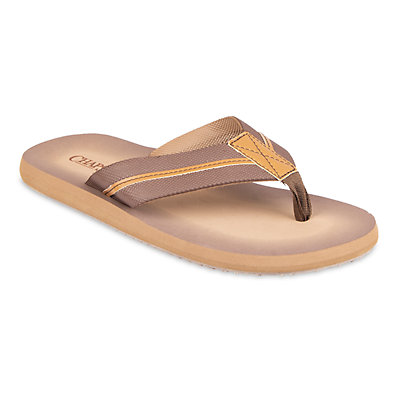 Men's Chaps Embossed Thong Sandals