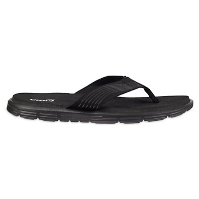 Men's Chaps Striped Thong Sandals