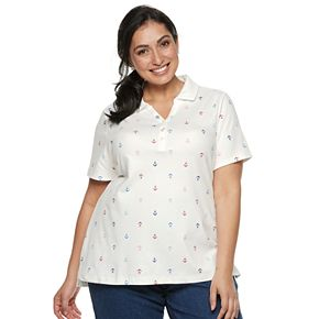 Plus Size Croft & Barrow® Polo