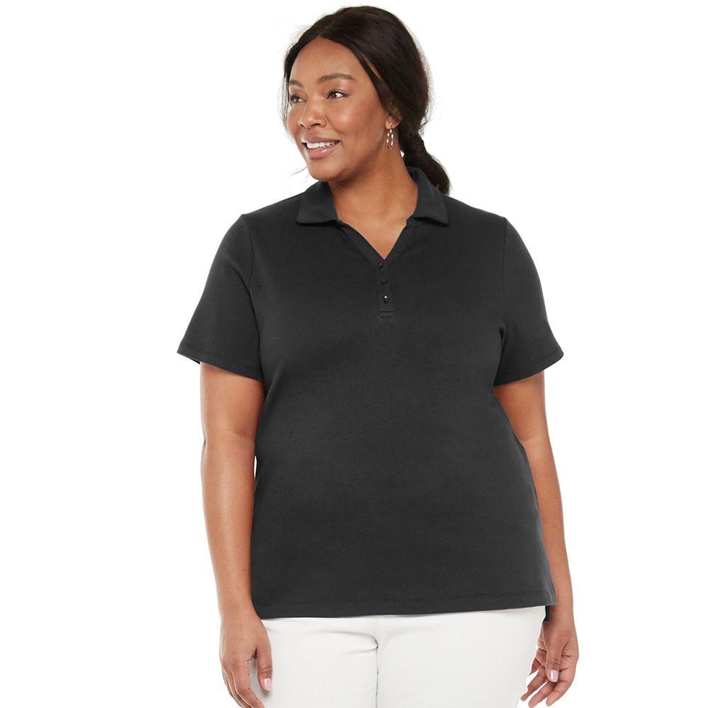 Plus Size Croft & Barrow® Polo Shirt