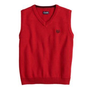Boys 4-20 Chaps Kyle Sweater Vest